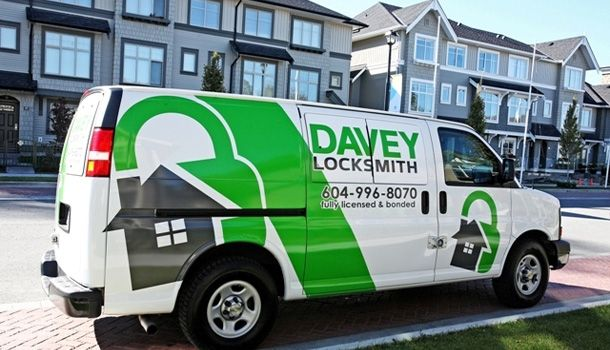 Davey Locksmith Van